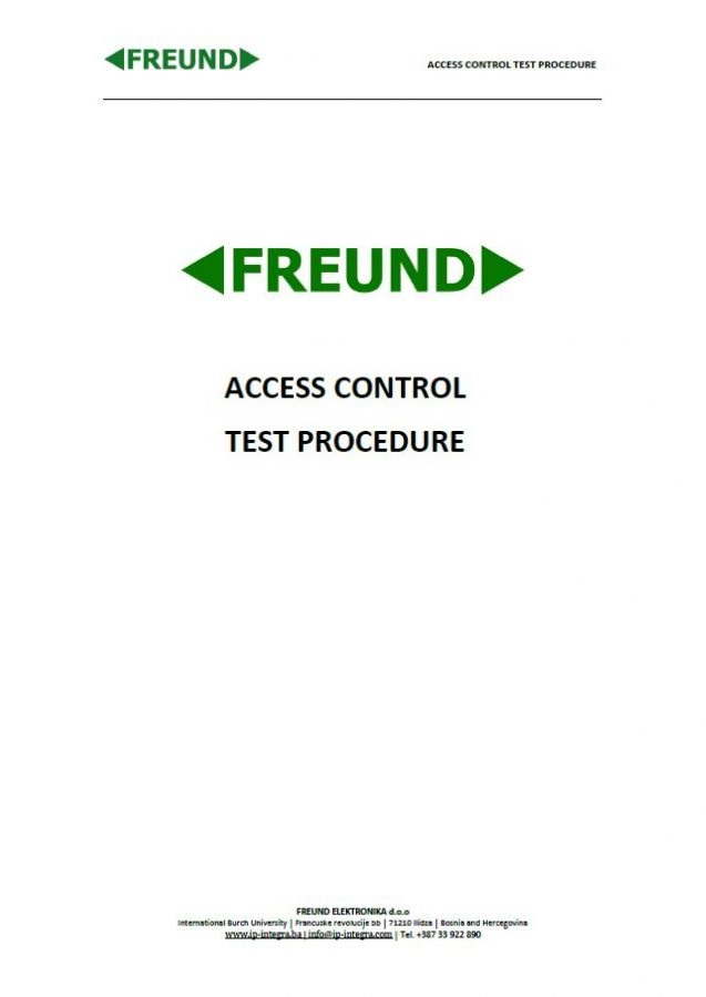 ACC-Test-Procedure