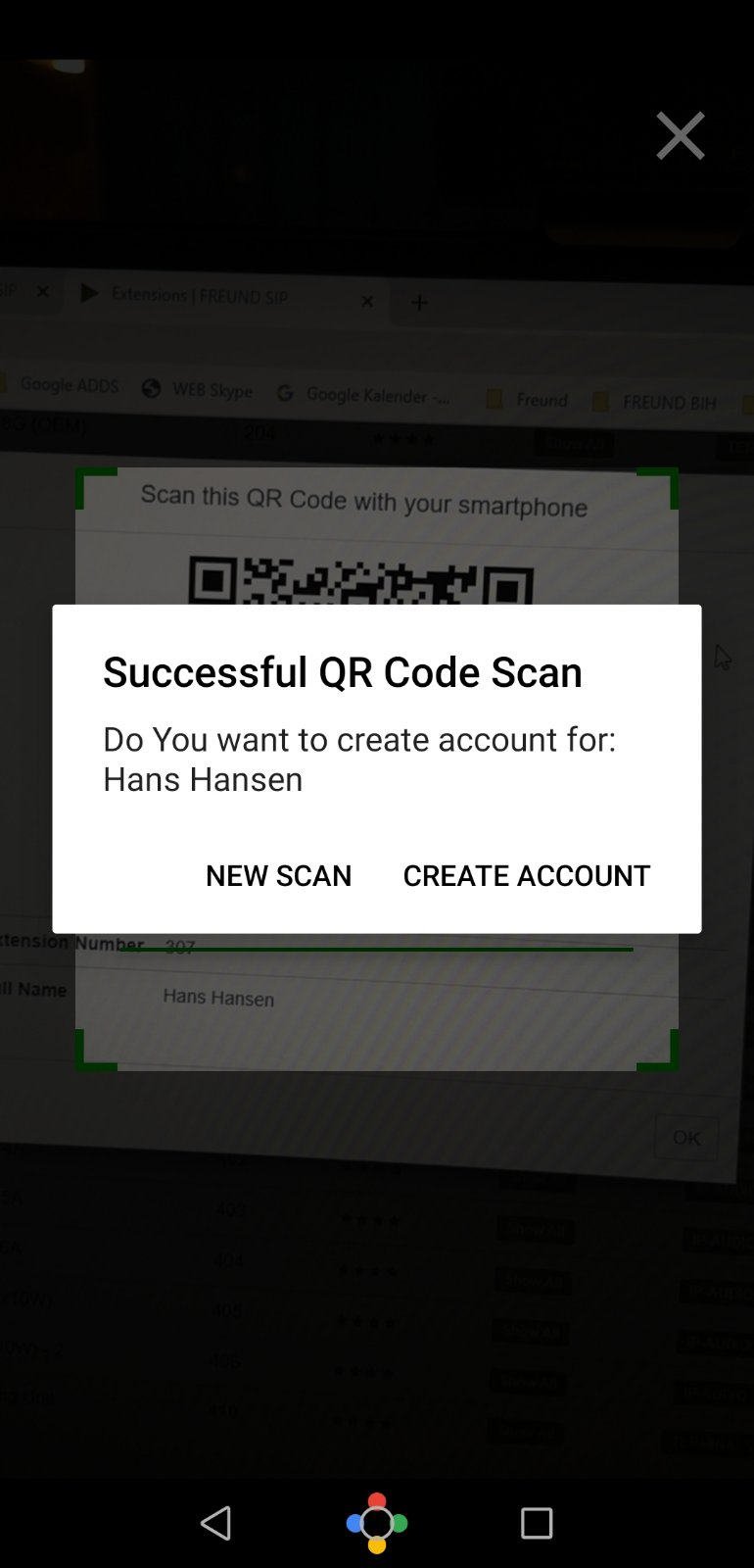 Page 3 - QR-code scan