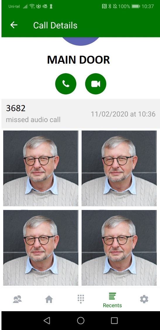 Page 8 - Missed Call log